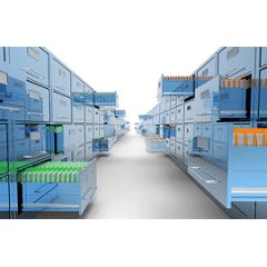 AGILDOC GUARDA VIP - Guarda Simples de Documentos - Até 288 Caixas Arquivo - Sem custos de implantação